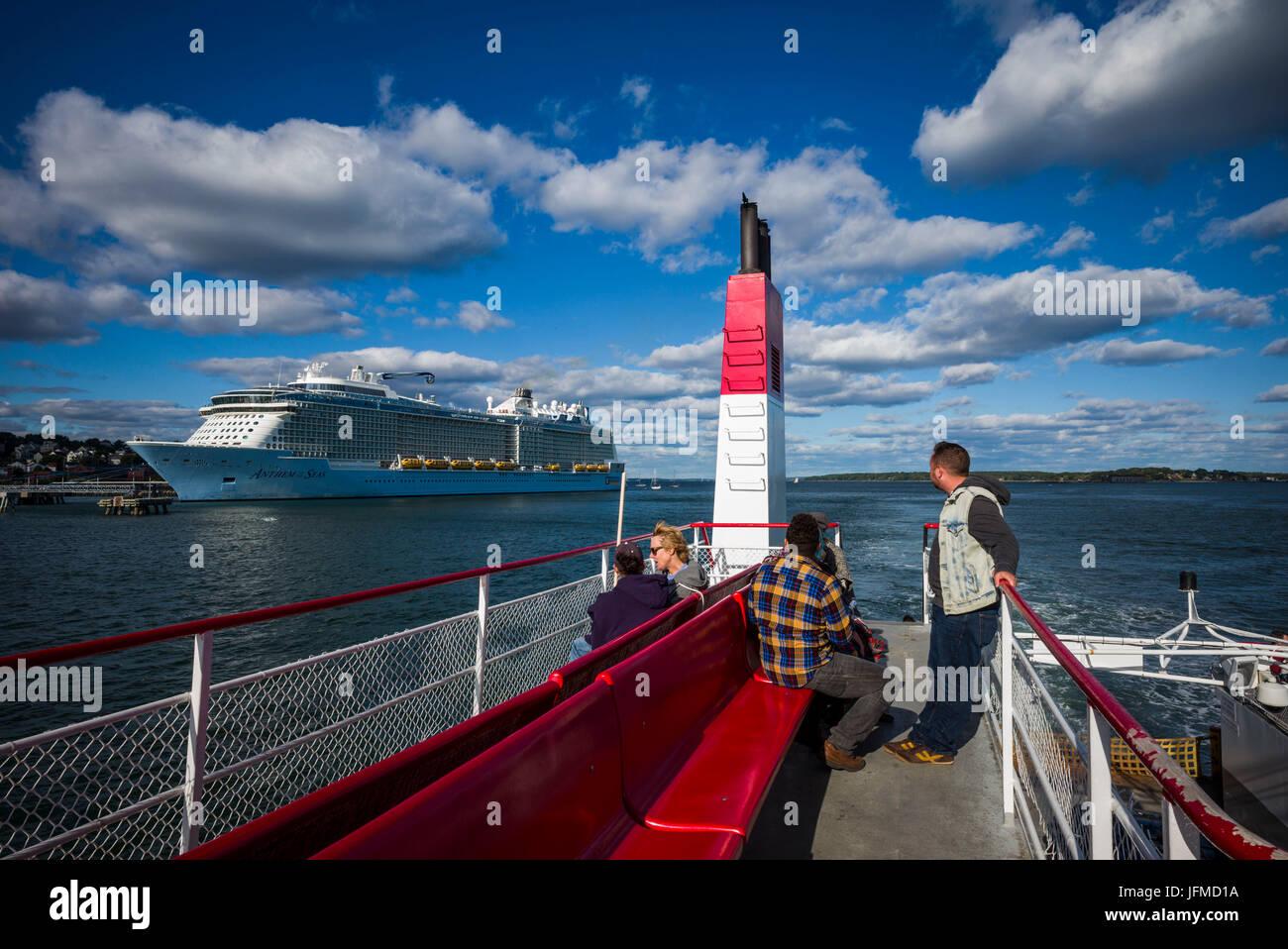 Casco Bay Ferry Stockfotos & Casco Bay Ferry Bilder - Alamy