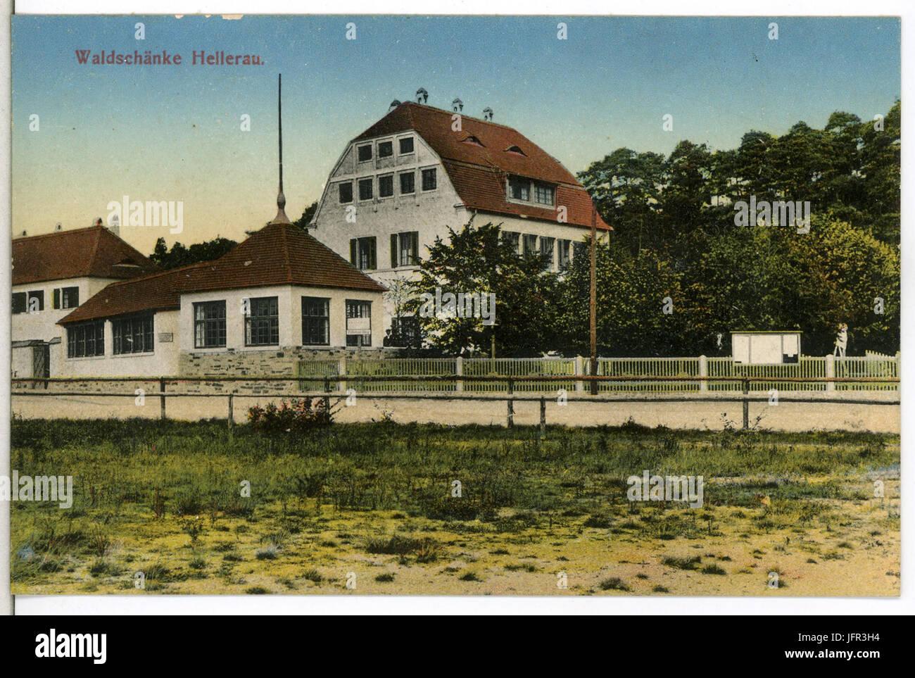 13472-Hellerau-1911-Waldschänke-Brück & Sohn Kunstverlag Stockfoto ...