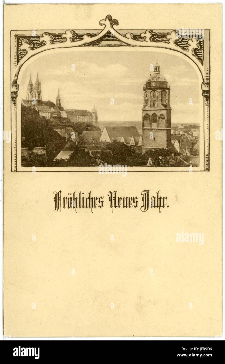 17351-Meißen-1914-Blick Auf Meißen - Neujahrskarte Brück & Sohn ...