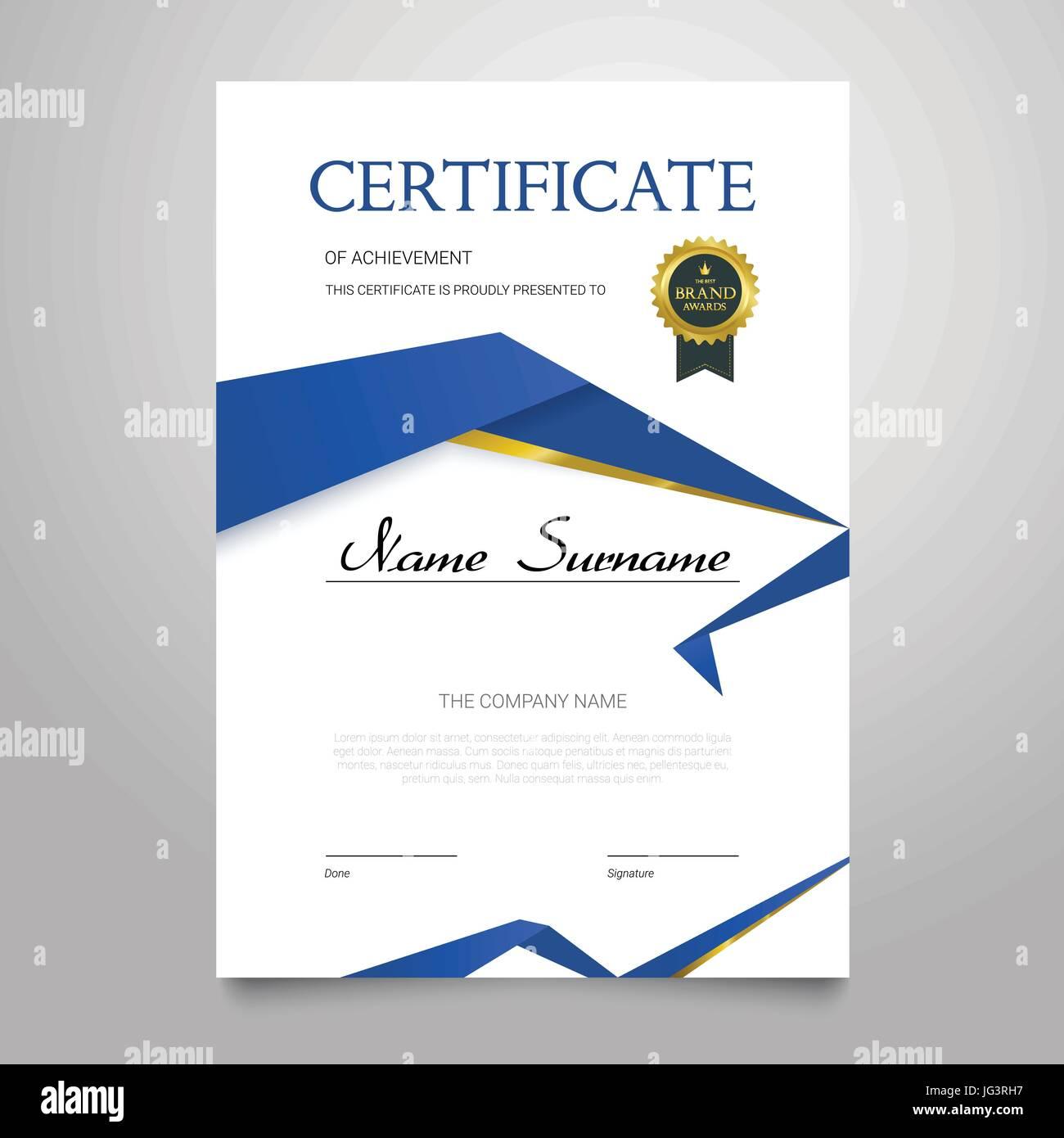 Erfreut Zertifikate Der Wertschätzung Galerie - Bilder für das ...