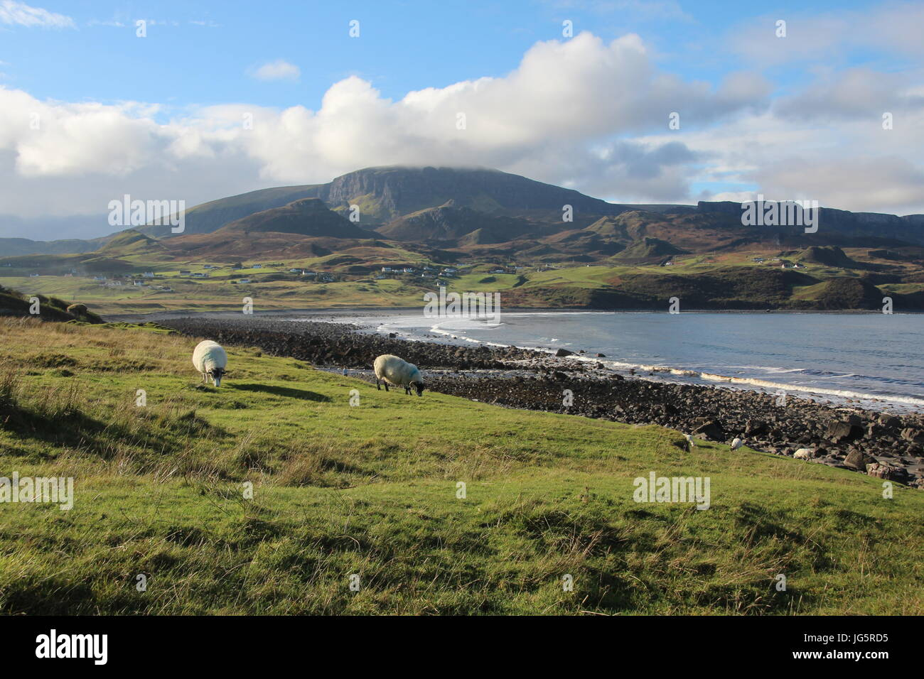 Landschaft auf Isle Of Skye Stockfoto