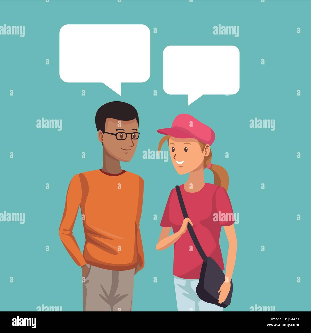 Gespräch mit einem Mädchen Text