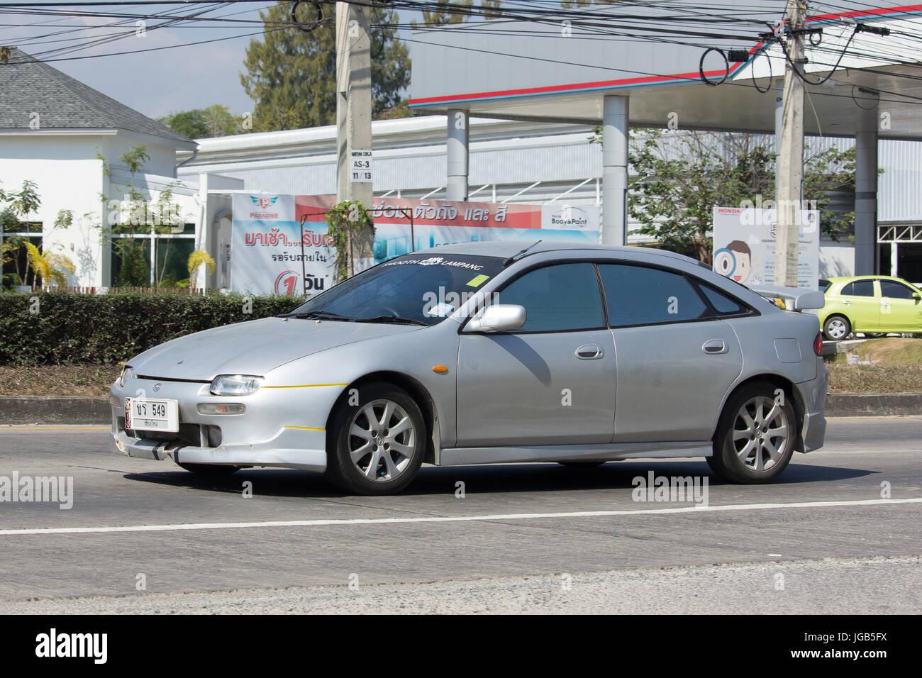 Chiang Mai Thailand 29 Januar 2017 Private Alten Auto Mazda 323