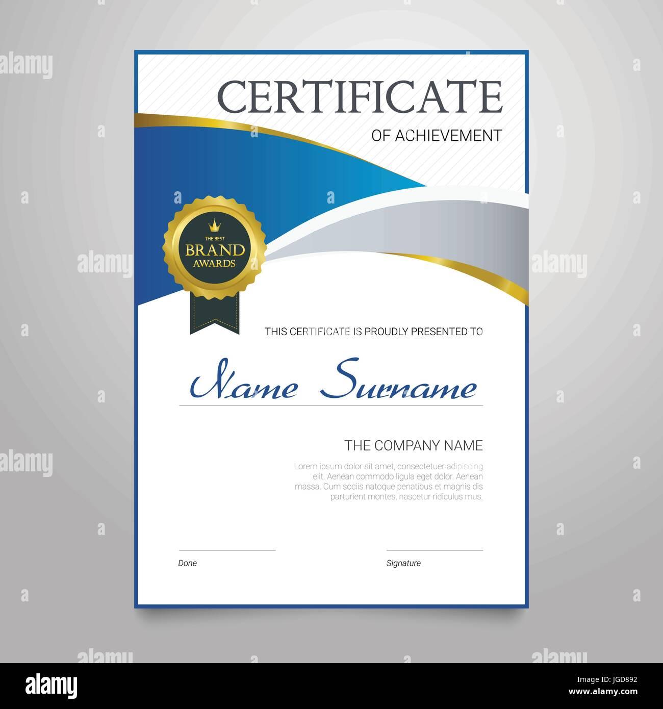Großartig Zertifikat Der Wertschätzung Vorlagen Ideen - Entry Level ...