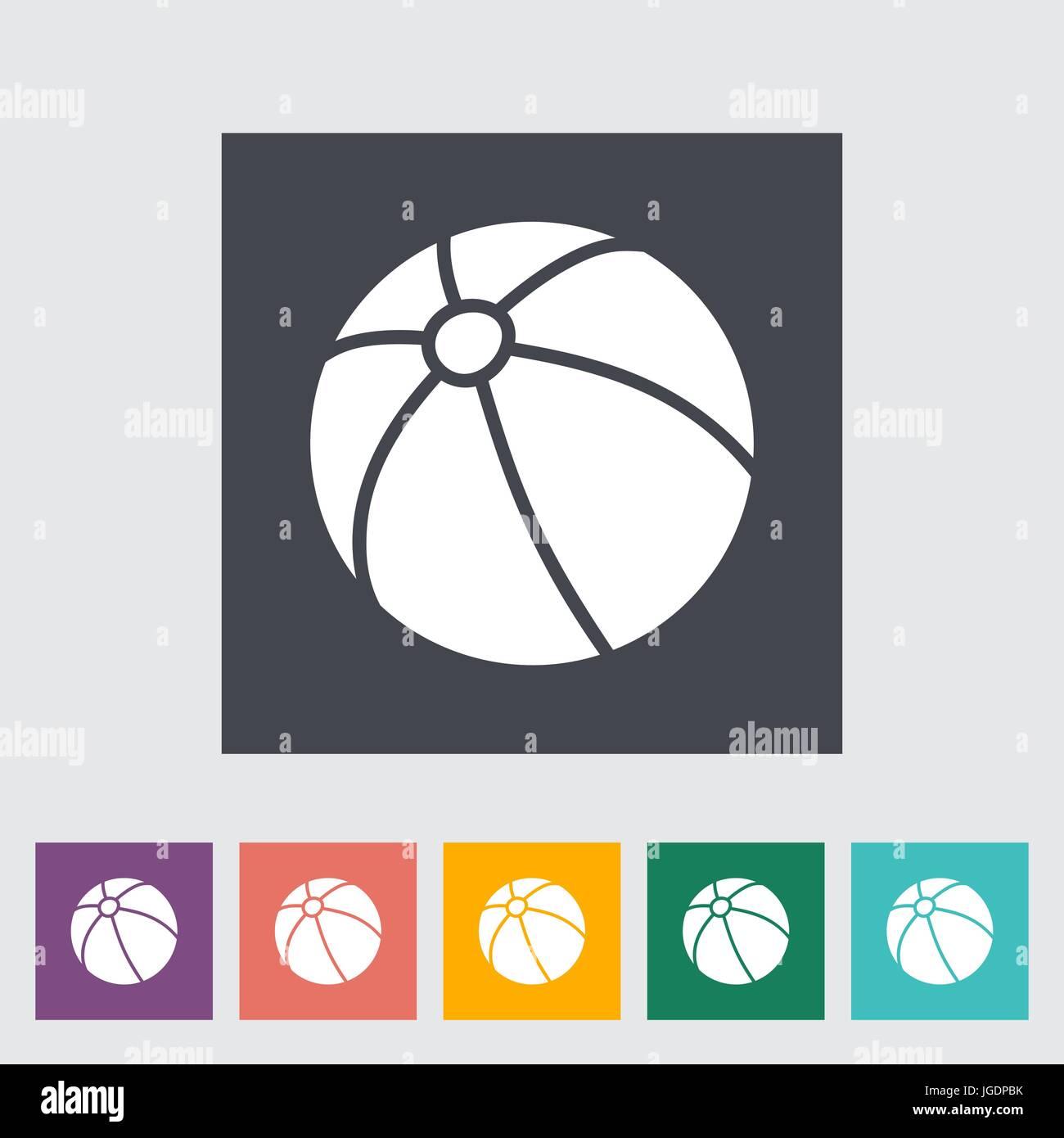 Plastic Ball With Logo Stockfotos & Plastic Ball With Logo Bilder ...
