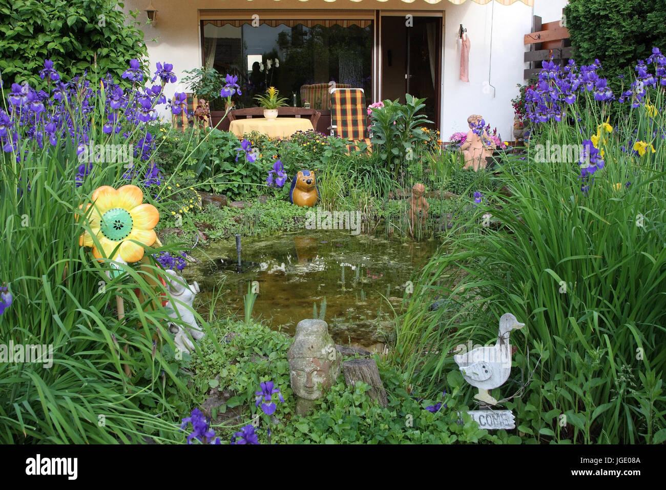 Garten Mit Teich, Garten Mit Teich
