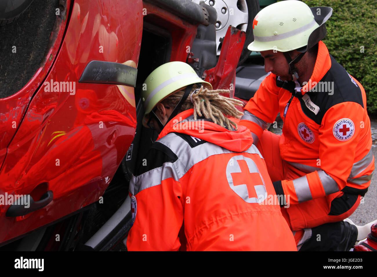 Feuer, Feuerwehr, Rettung, Brandschutz, Unfall, Erholung, speichern ...
