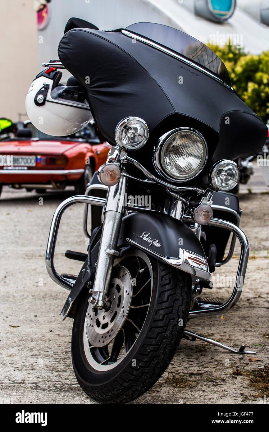 Harley Davidson Electra Glide - amerikanische Motorrad vor Stockfoto ...
