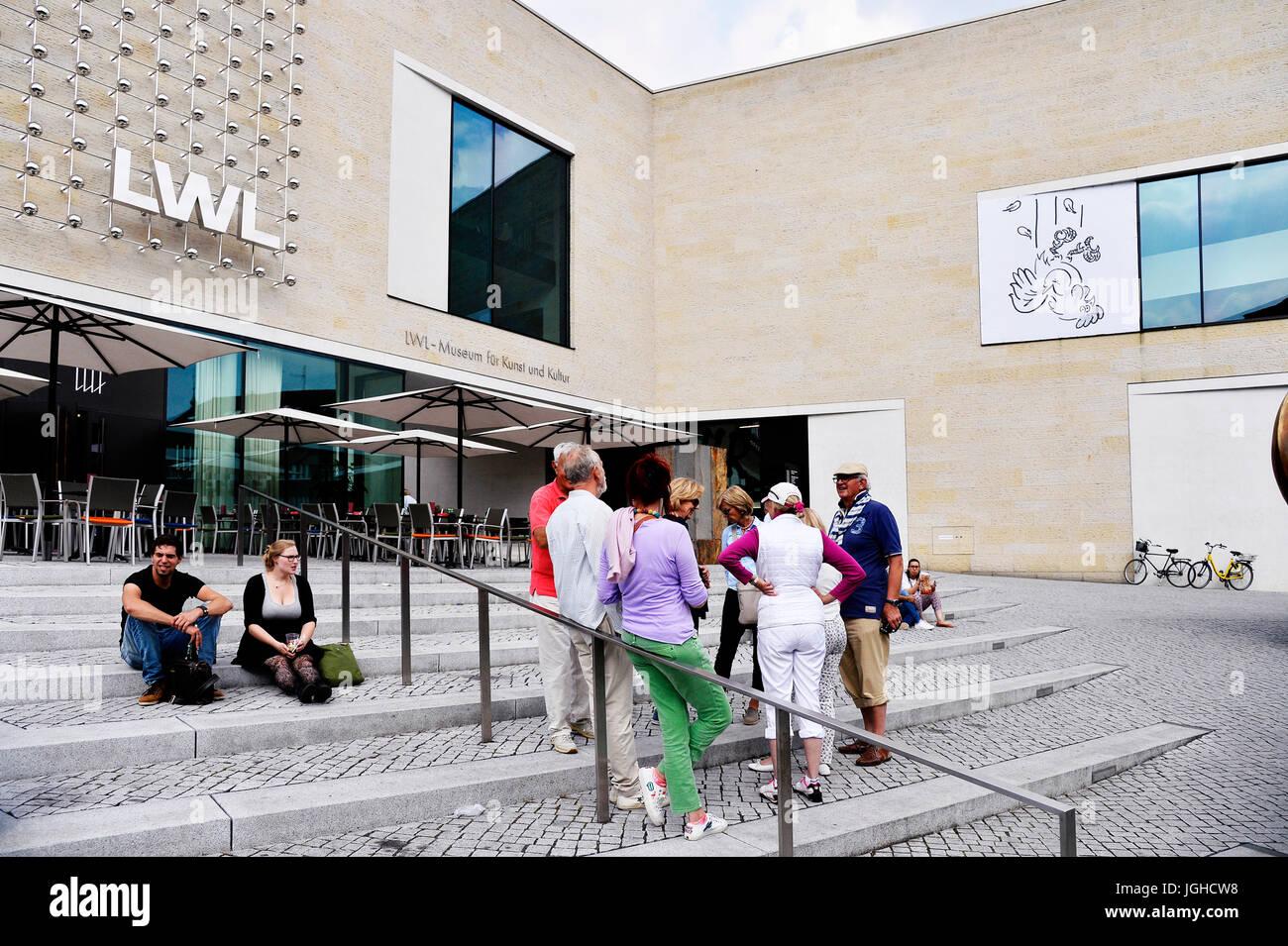 LWL-Museum in Munster, Deutschland Stockbild