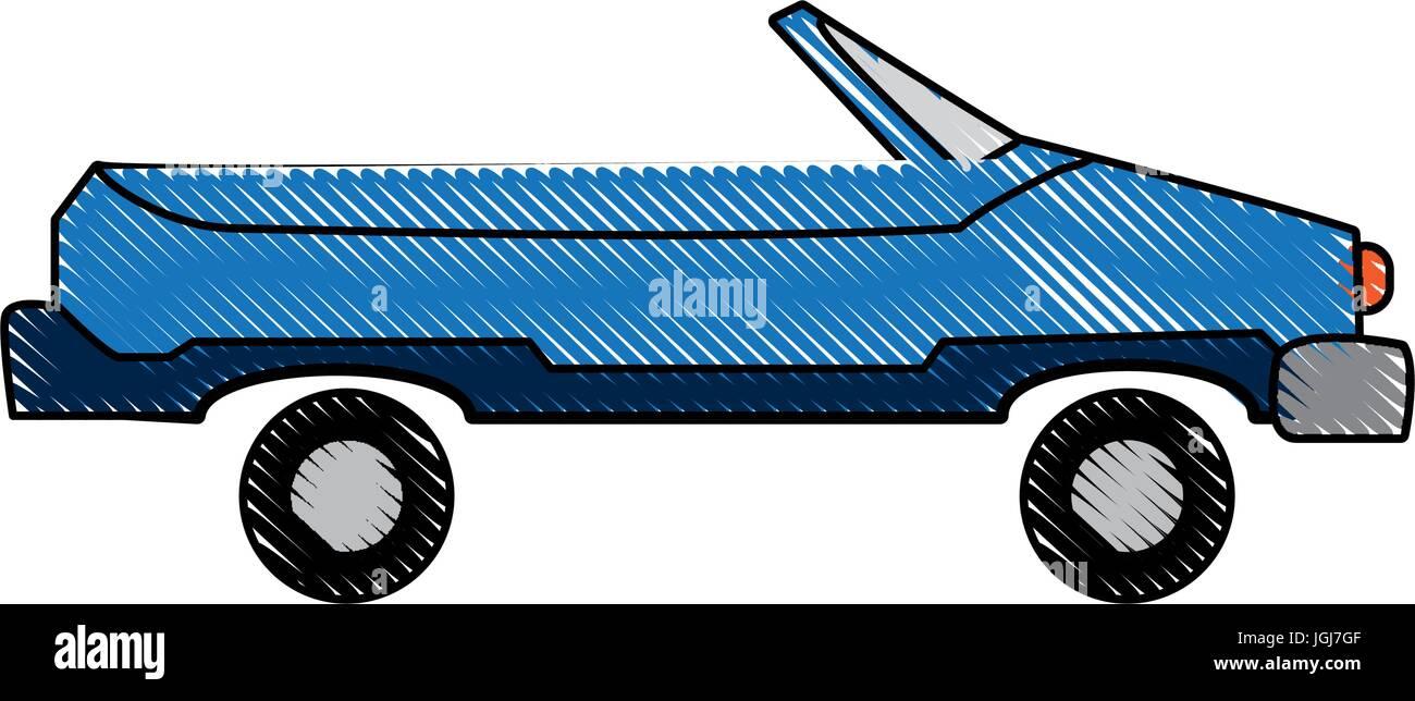 grünes Auto Fahrzeug Transport Technik Bild Stockbild