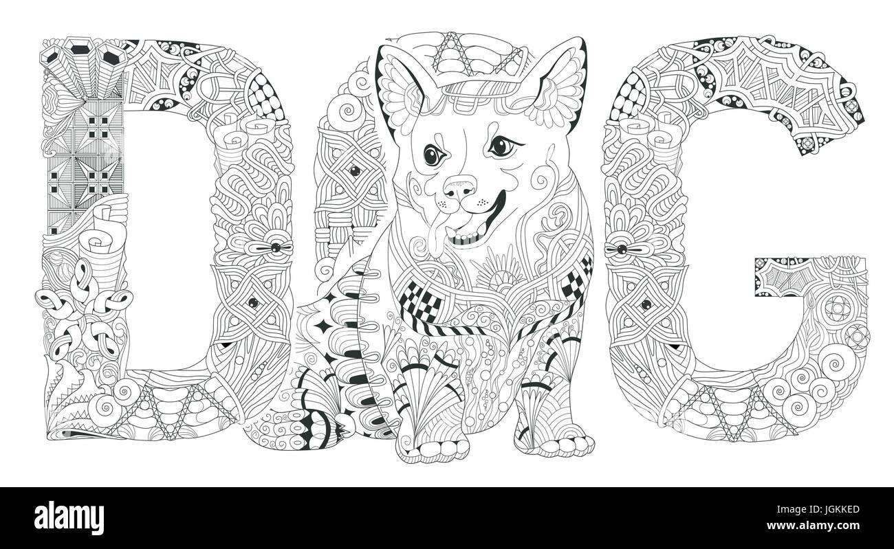 malvorlage hund silohouette  coloring and malvorlagan