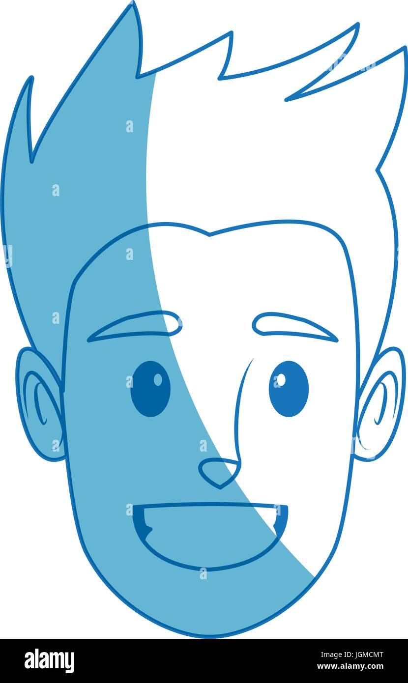 Mann profilbild