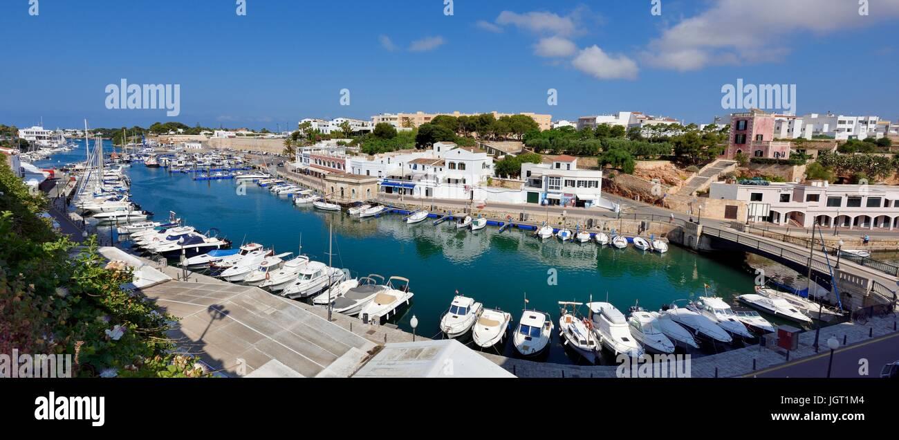 Ciutadella Menorca Minorca Stockbild