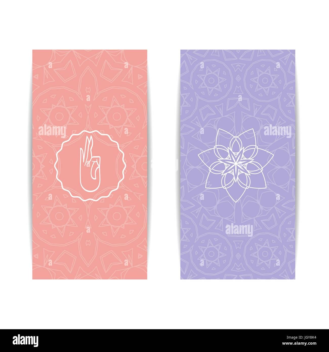Yoga Banner Template Stockfotos & Yoga Banner Template Bilder - Alamy