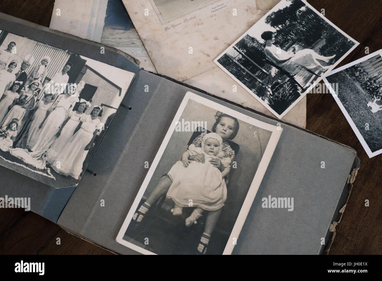 Datieren alter Familienfotos
