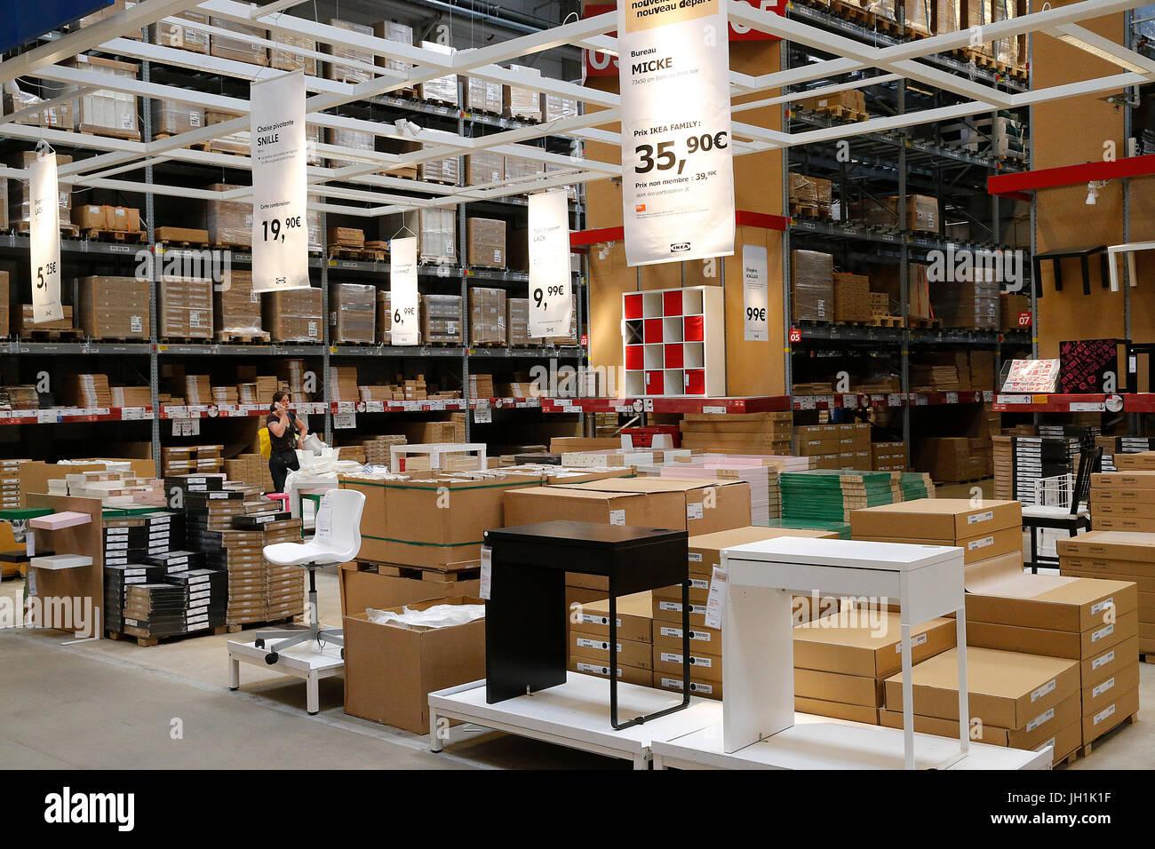 Ikea einrichtungshaus frankreich stockfoto bild alamy