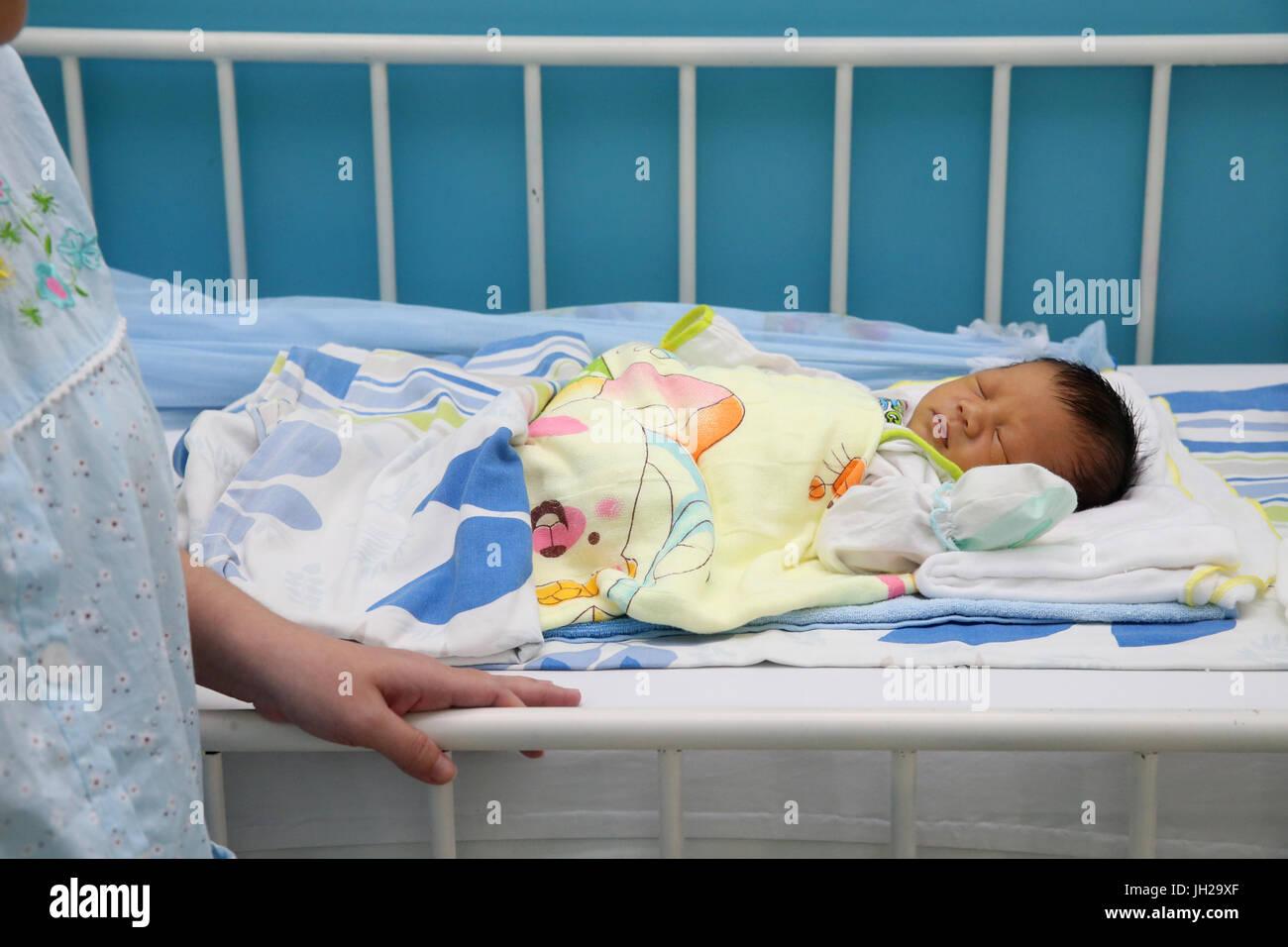 Herz-Institut bieten qualitativ hochwertige Betreuung vietnamesischen Patienten mit Herzkrankheiten. Ho-Chi-Minh Stockbild