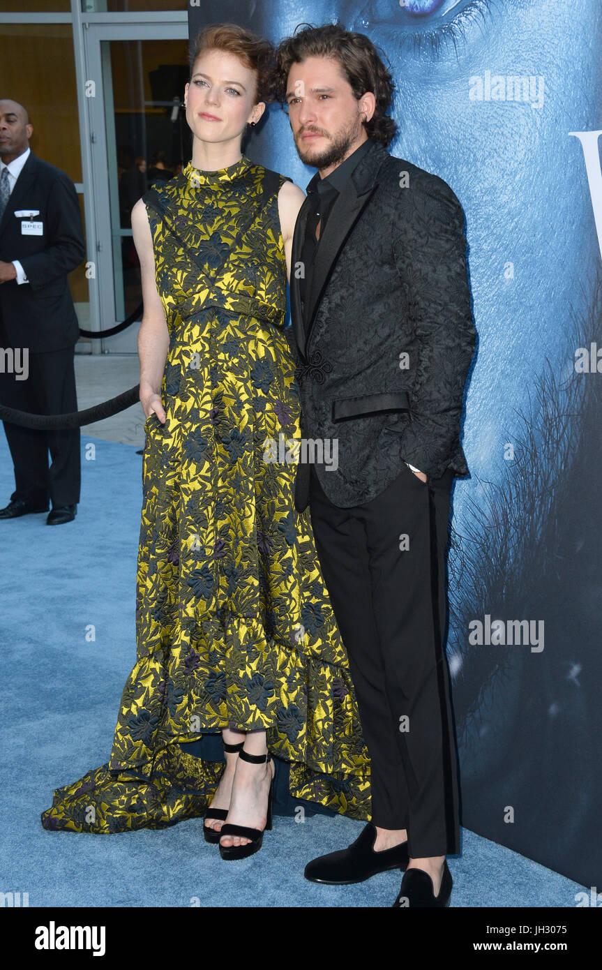 Los Angeles Usa 12 Juli 2017 Schauspieler Kit Harington