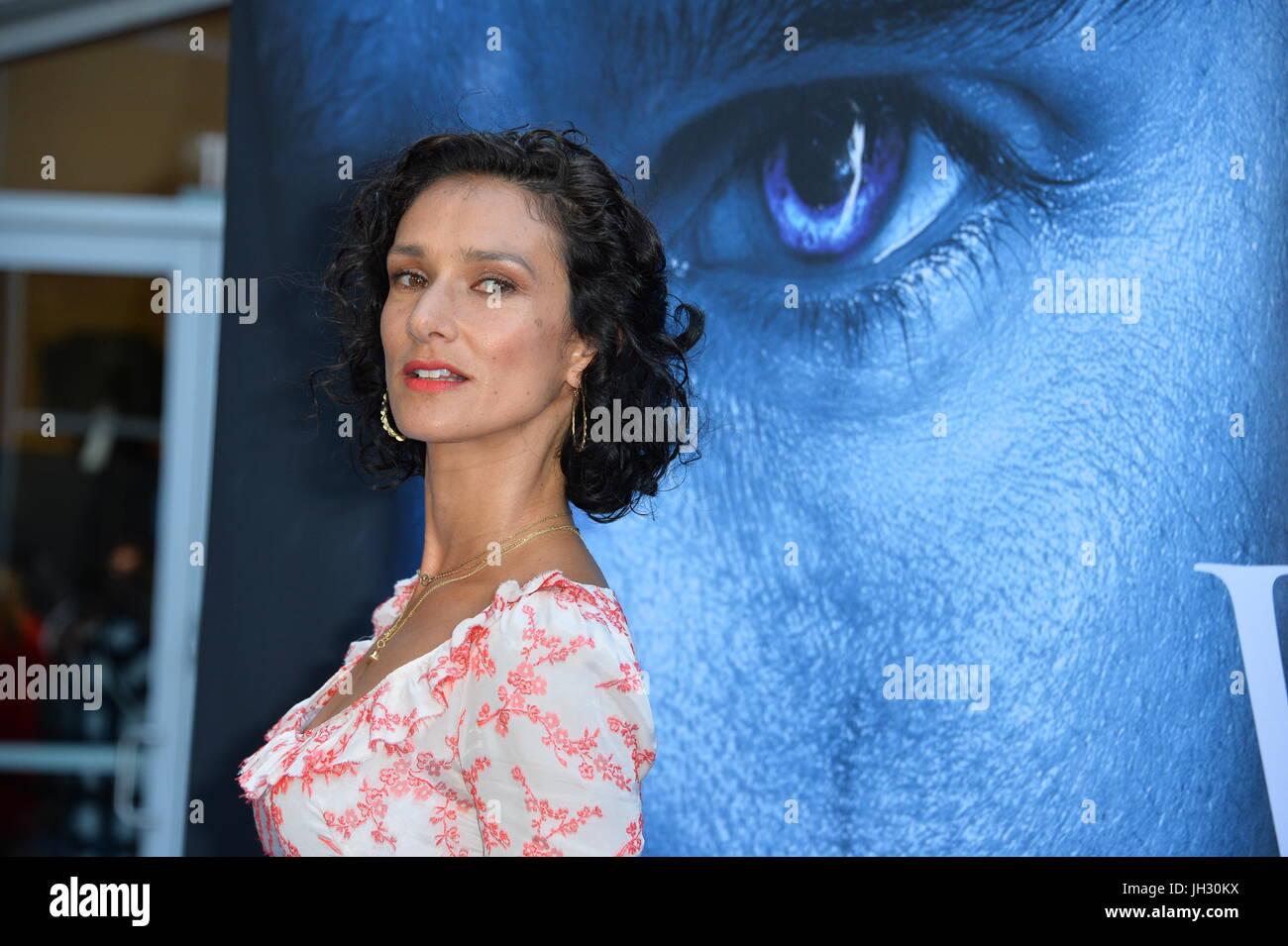 Los Angeles Usa 12 Juli 2017 Schauspielerin Indira Varma Bei Der