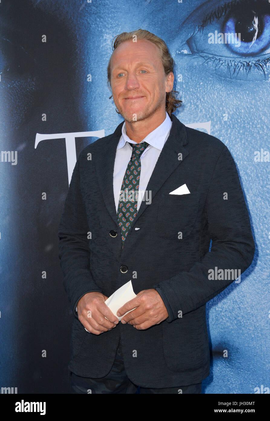 Los Angeles Usa 12 Juli 2017 Schauspieler Jerome Flynn Bei Der