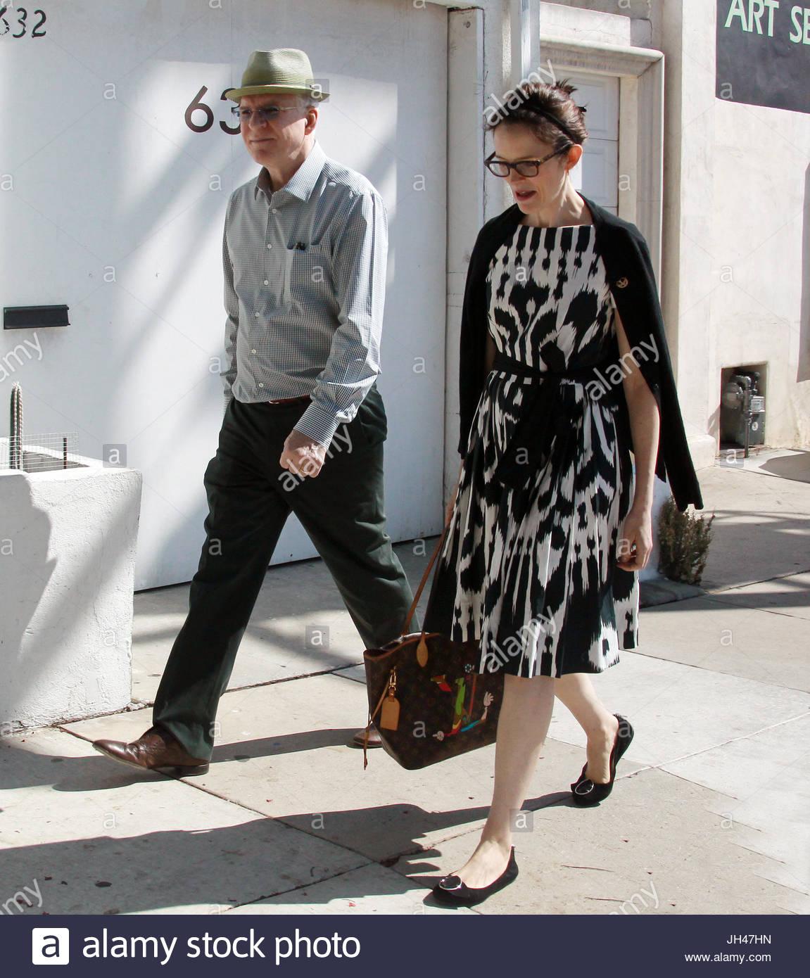 Steve Martin und Anne Stringfield. Steve Martin und seine Frau Anne ...