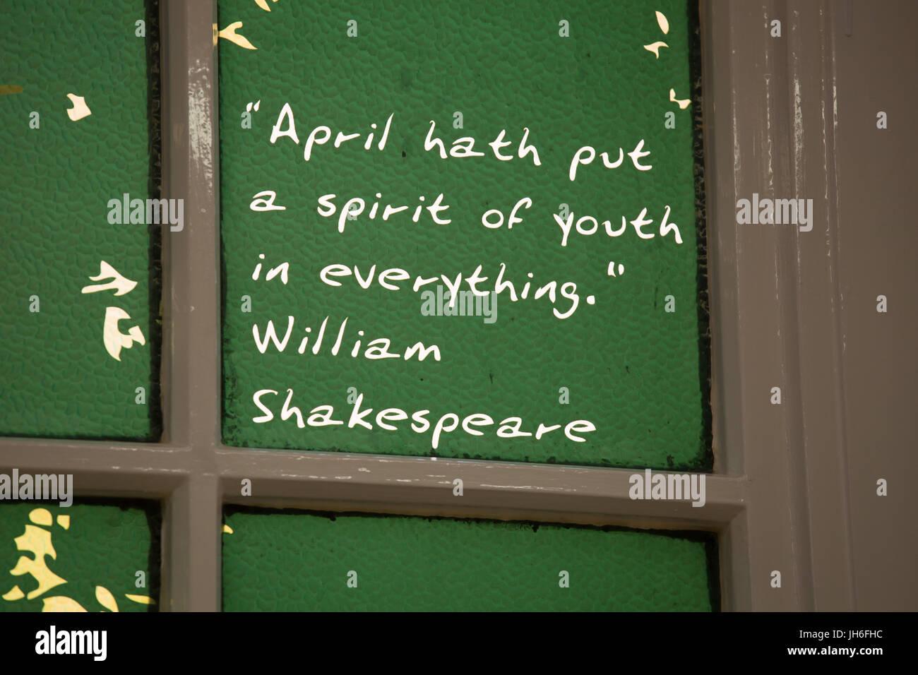 Shakespeare Zitat Stockfotos Shakespeare Zitat Bilder Alamy