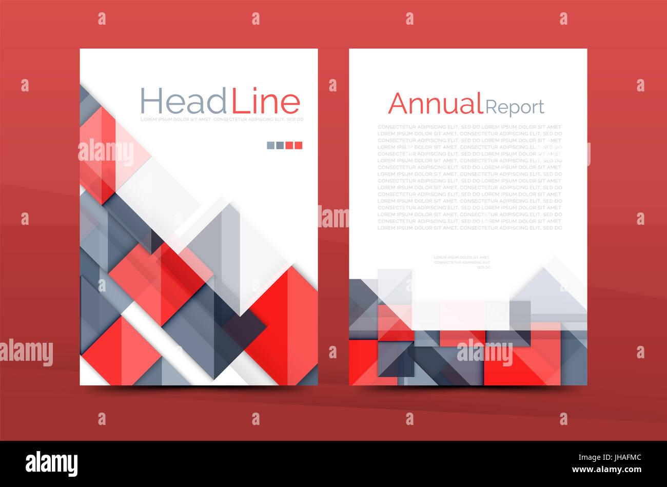 geometrische 3d formen design a4 abdeckung business imagebroschre identitt vorlage - Imagebroschure Beispiele
