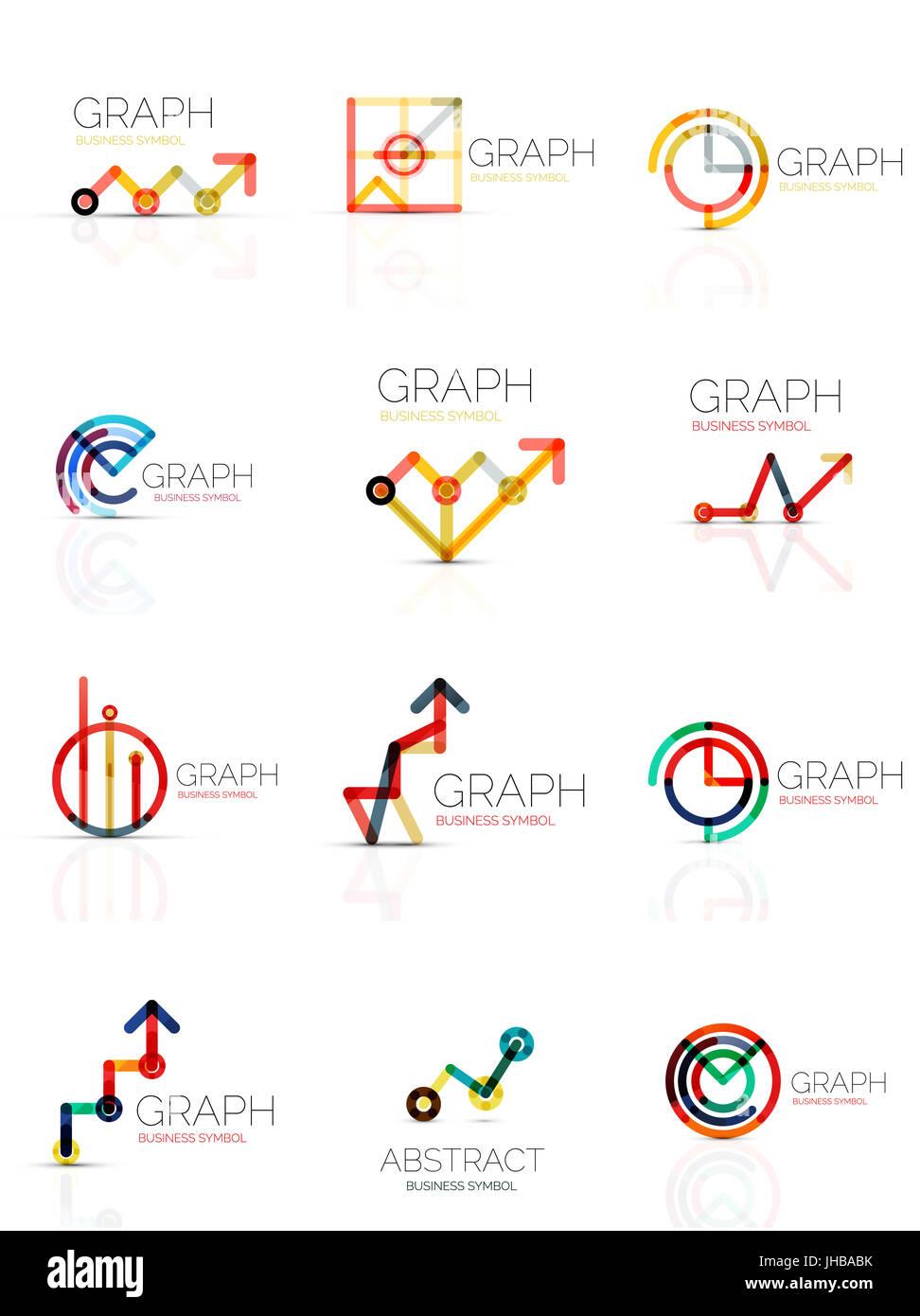 Statistics Diagram Pictogram Stockfotos & Statistics Diagram ...