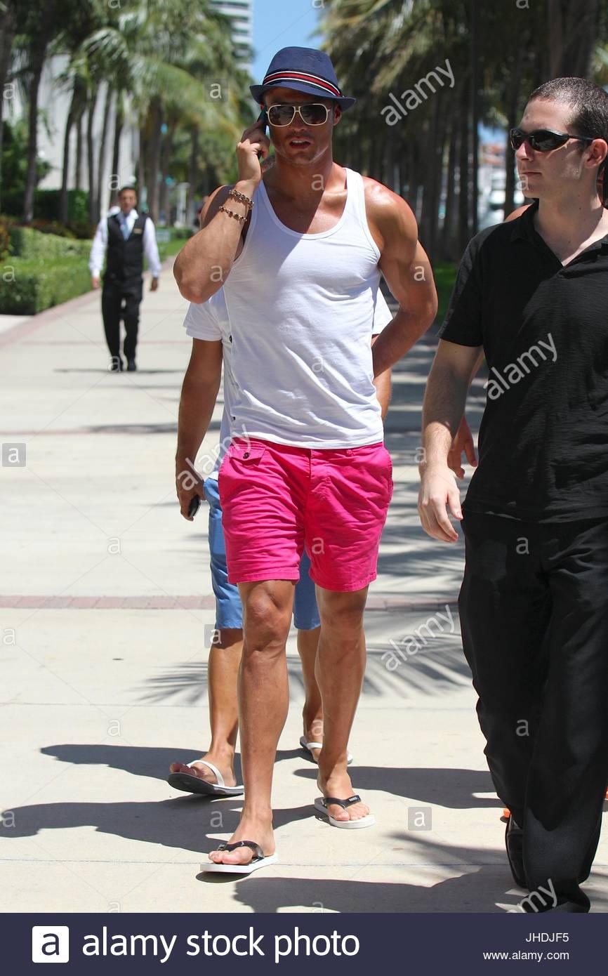 Cristiano Ronaldo Real Madrid Fußballer Cristiano Ronaldo Im Urlaub