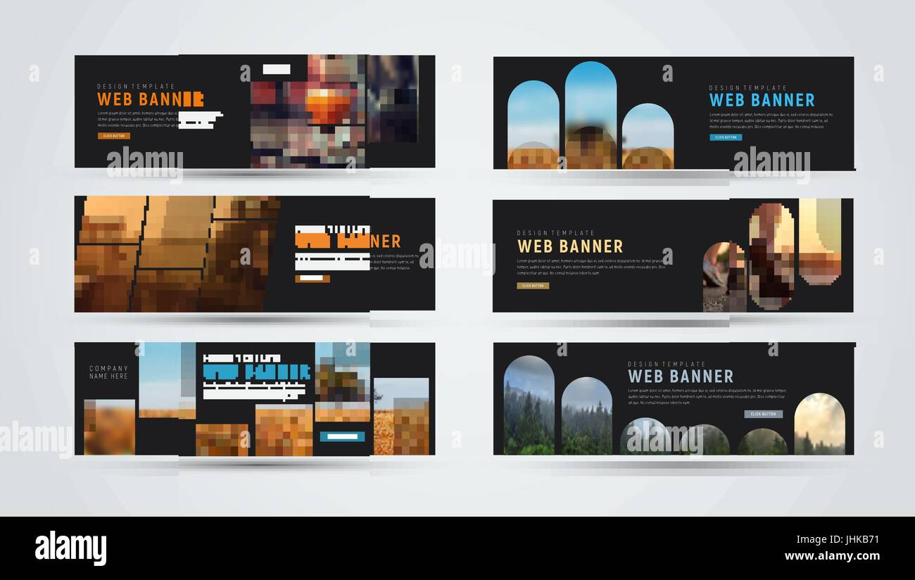Set Horizontal Size Standard Web Stockfotos & Set Horizontal Size ...