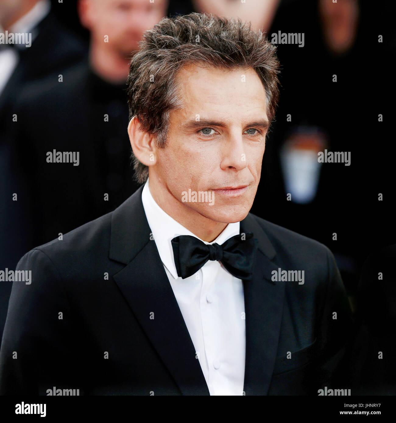 CANNES, Frankreich - 21. Mai: Schauspieler Ben Stiller besucht 'The Meyerowitz Stories' Premiere während der 70. Stockfoto