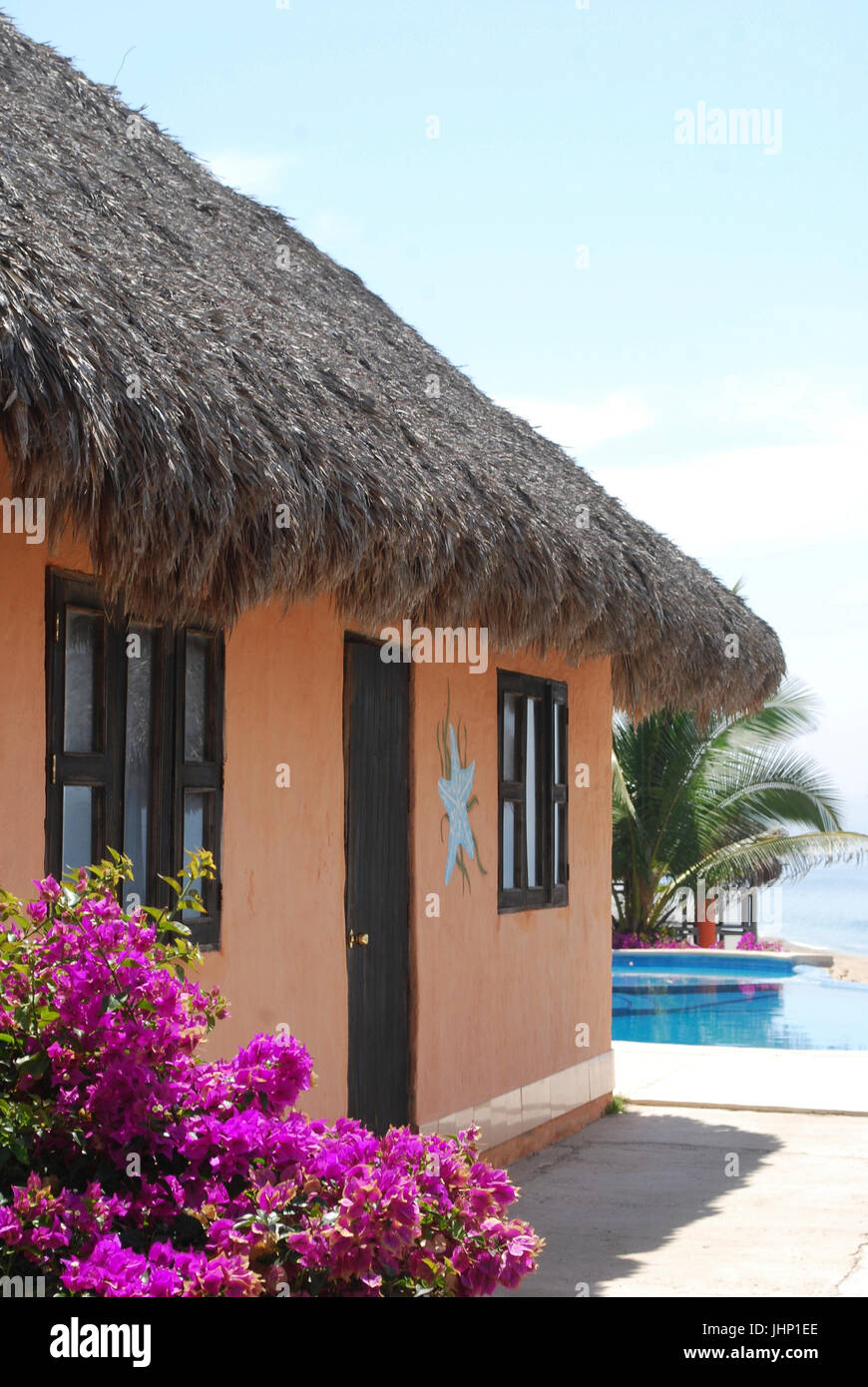 Cabana, Cabo Corrientes, Jalisco, Mexiko Stockbild