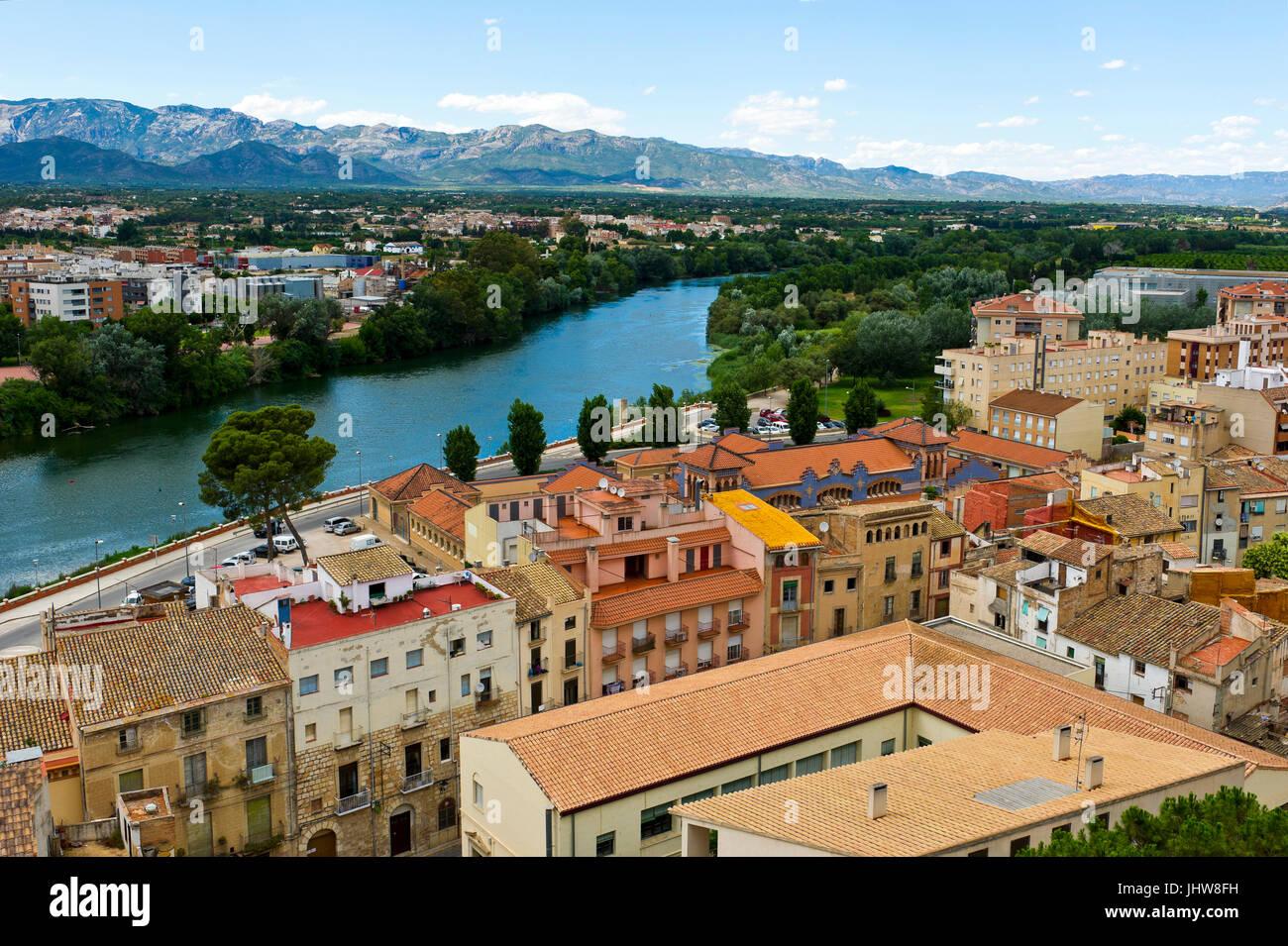 Tortosa, Tarragona, Katalonien, Spanien Stockbild