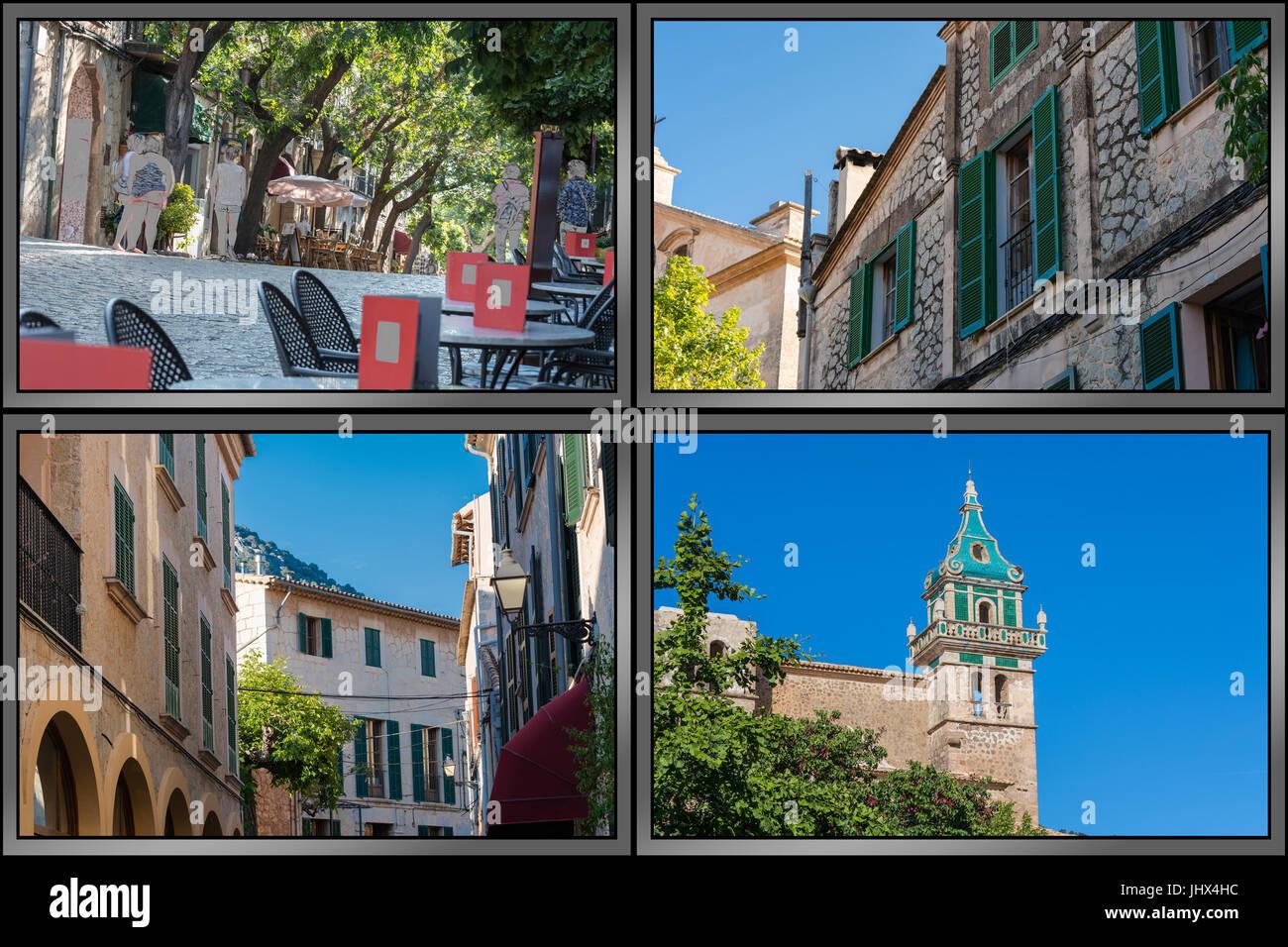 Impressionen von Valldemossa auf Mallorca in Spanien im Rahmen von ...