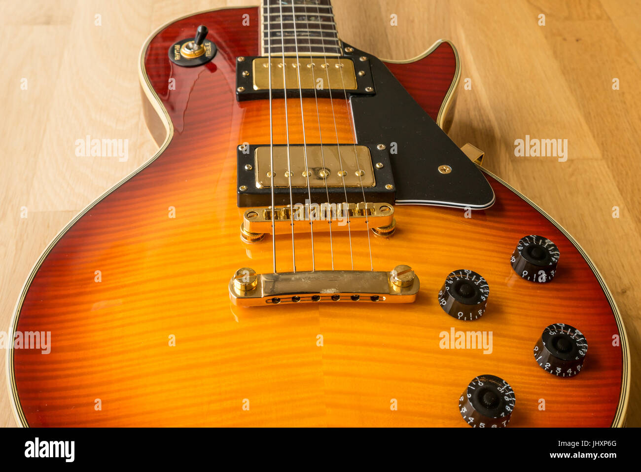 Les Paul Guitar Stockfotos & Les Paul Guitar Bilder - Alamy Westfield B Guitar Wiring Diagram on