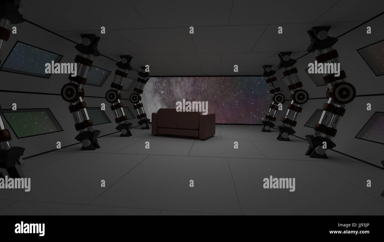 https://c8.alamy.com/compde/jj93jp/raumschiff-interieur-mit-relax-sofa-blick-auf-raum-und-fernen-planeten-system-3d-illustration-jj93jp.jpg