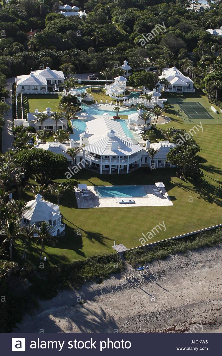 Celine Dion Eigenschaft Auf Jupiter Island Florida Datei Der