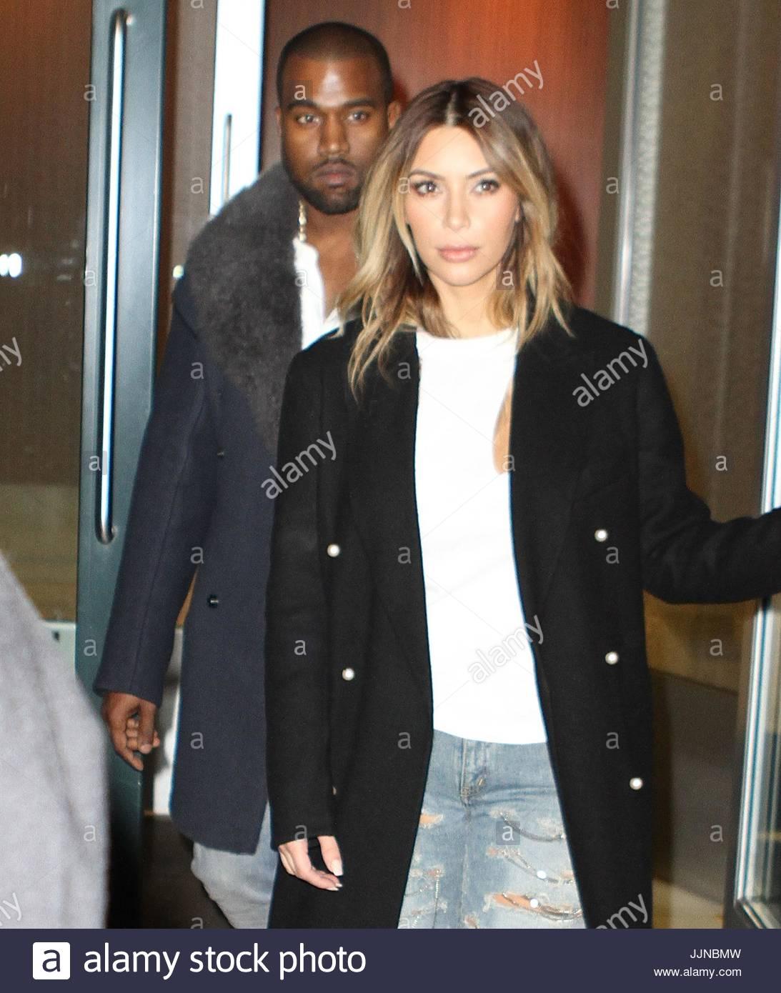 Kim Kardashian Und Kanye West Kim Kardashian Und Kanye West Galten