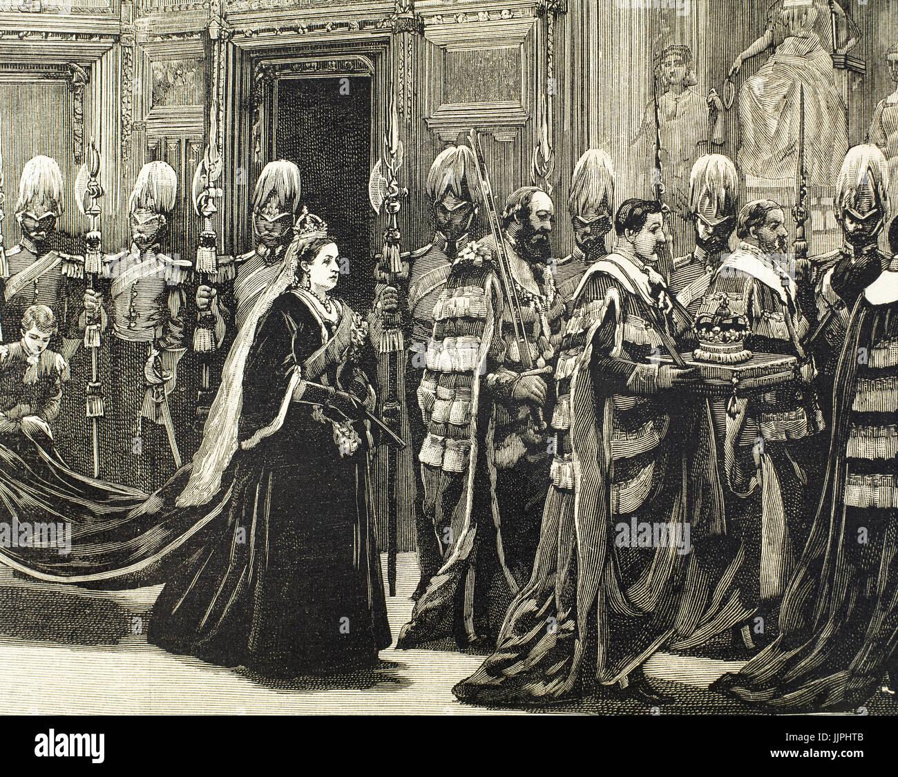 Victoria ich (1819-1901)  Königin der Berichtswoche von