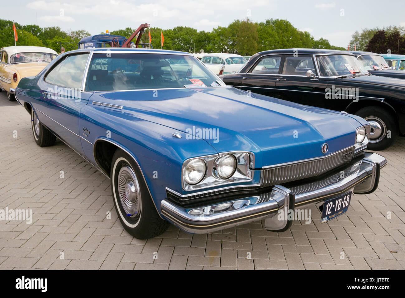 Den Bosch Niederlande 10 Mai 2015 Blau 1973 Buick Lesabre