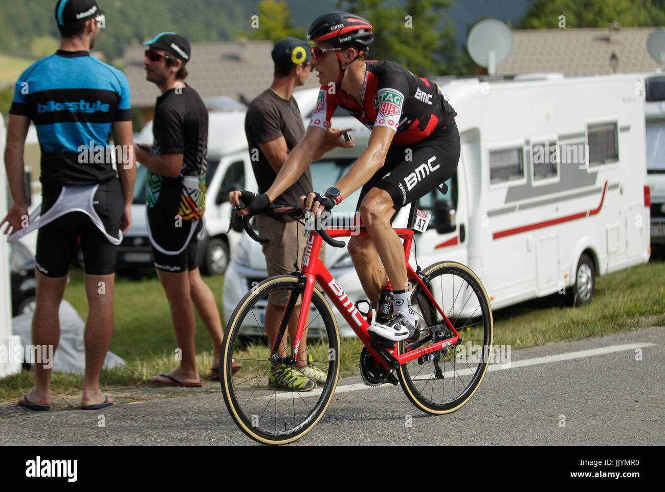 20 Juli 2017 Briançon Frankreich 18 Etappe Der Tour De France