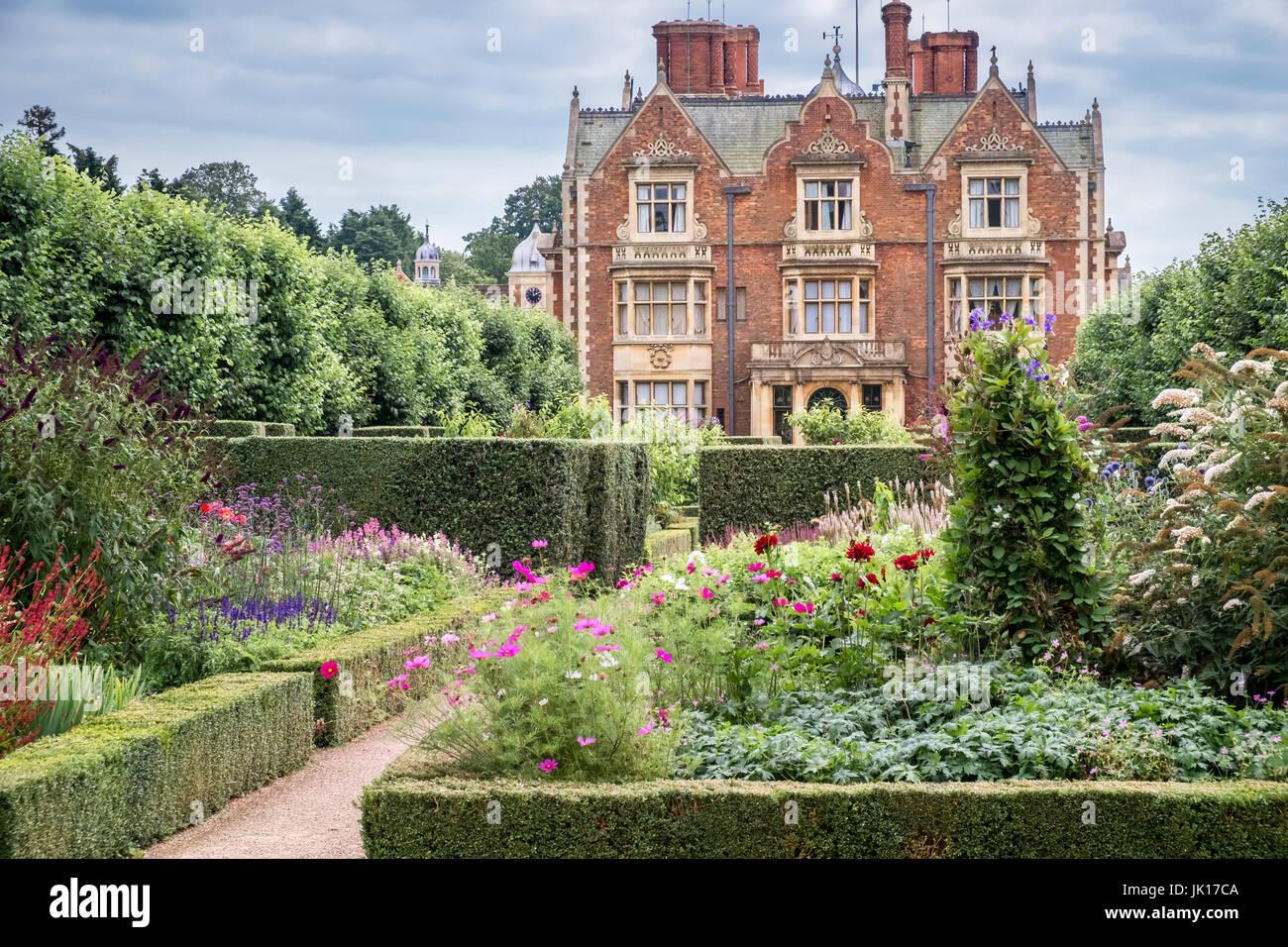 Sandringham House Und Gärten Im Sommer Estate Sandringham Norfolk