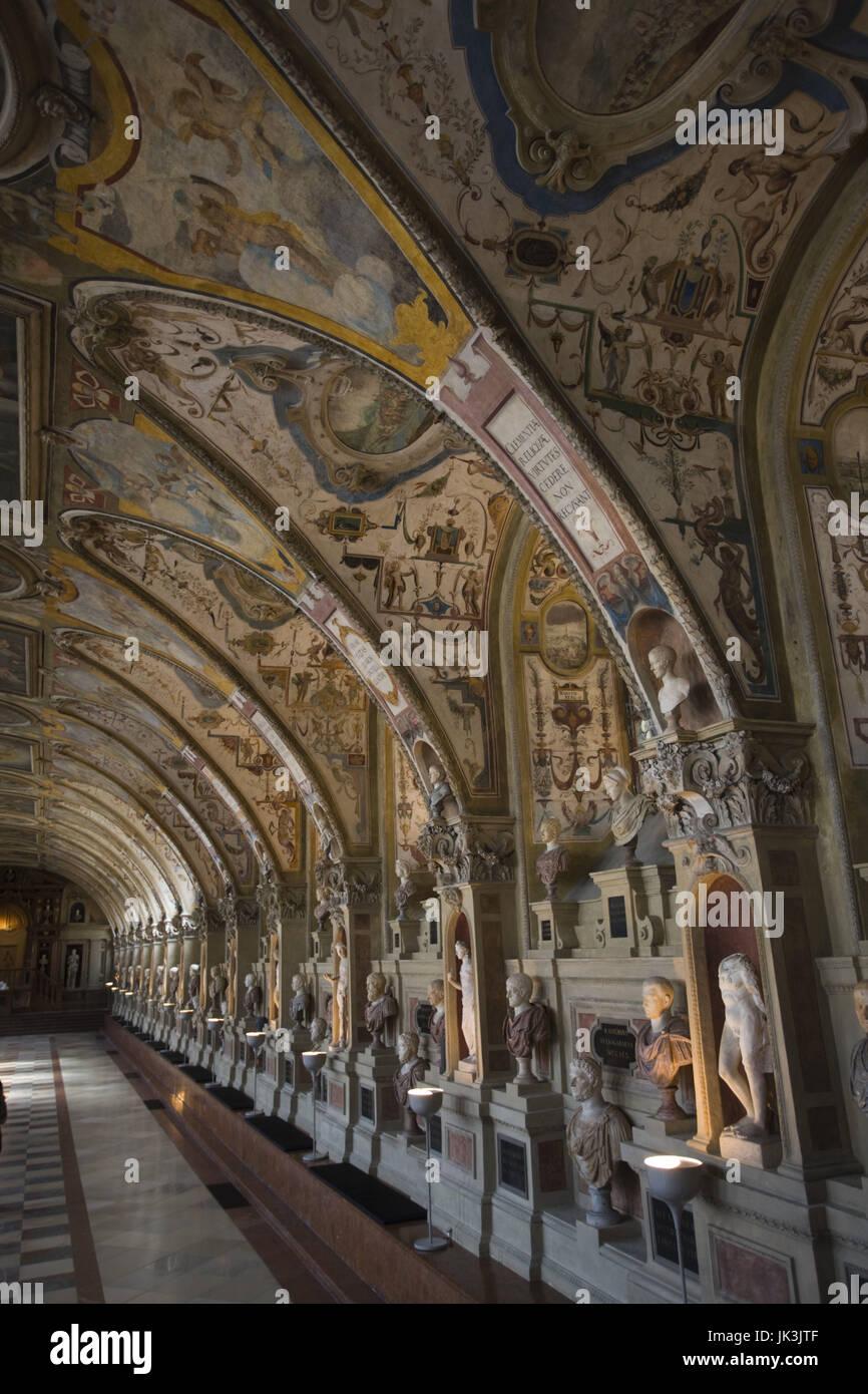 Deutschland Bayern München Residenzmuseum Gewölbte Decke Des Das