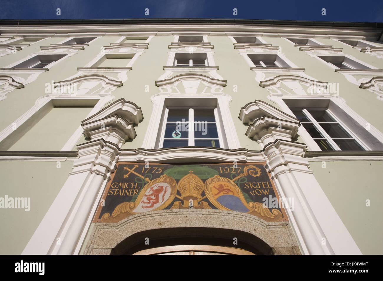 Deutschland, Bayern, Passau, Domplatz, Domplatz, Stockbild