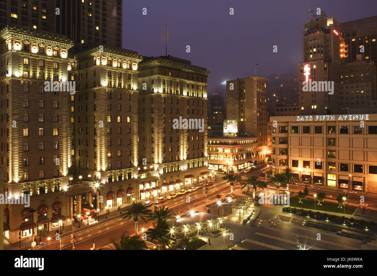 USA, Kalifornien, San Francisco, Union Square, Westin St. Francis ...