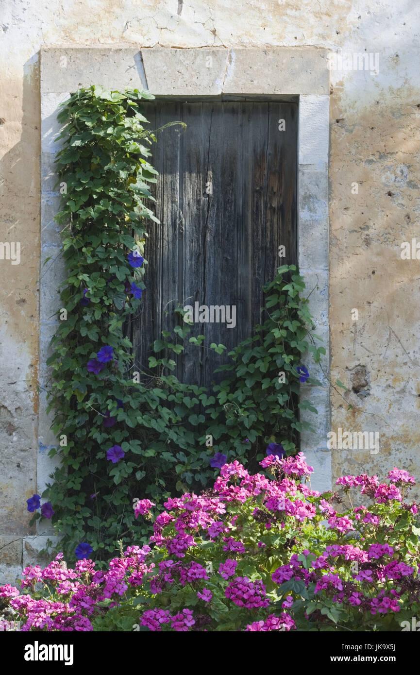 Fenster außen detail  Griechenland, Ionische Inseln, Insel Kefalonia, Assos, Haus, Alt ...