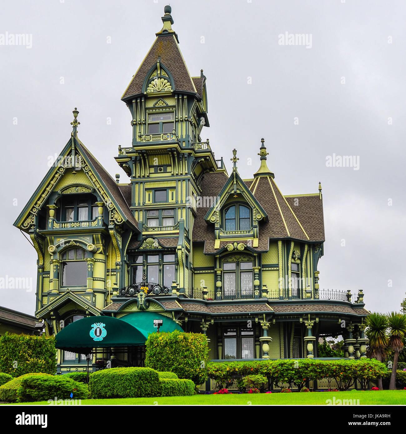 Eureka ca 7 august 2013 carson mansion ein gro es for Viktorianisches haus
