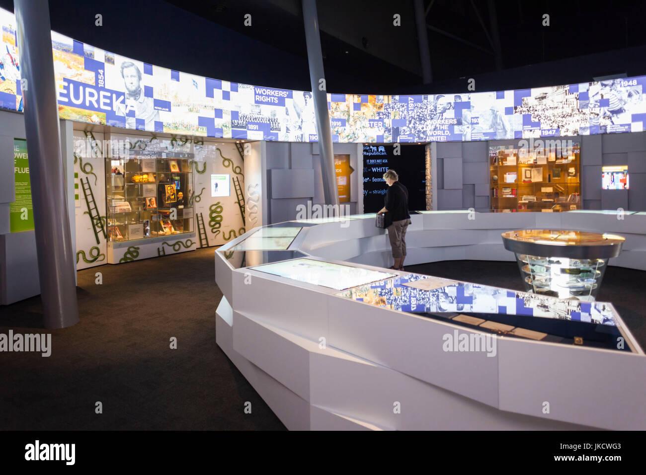 Australisch Familie Interieur : Australien victoria vic ballarat museum der australischen