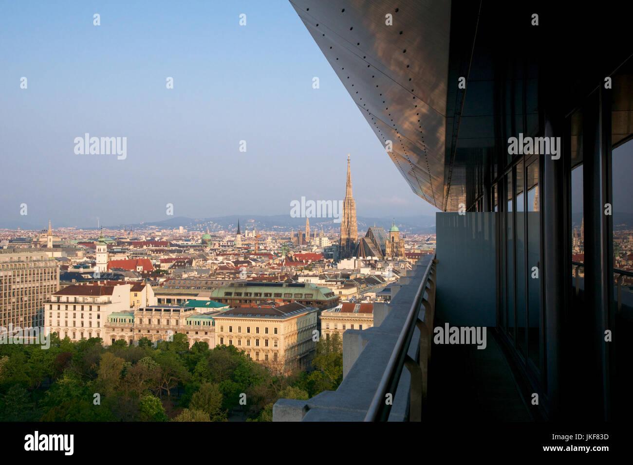 Wien Osterreich 29 April 2017 Schone Aussicht Auf Die Beruhmte