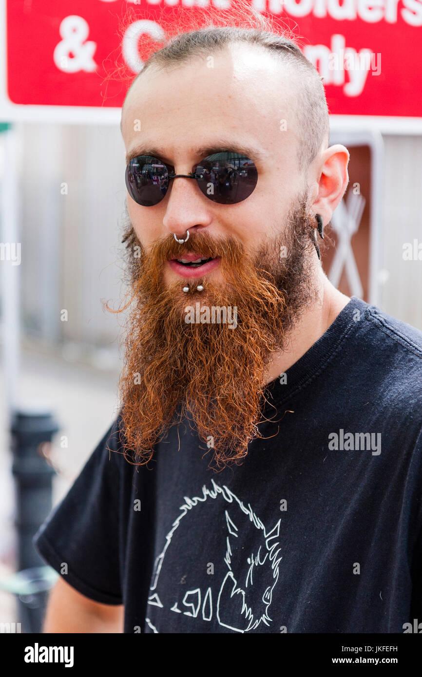 Lange haare gesichtsform mann